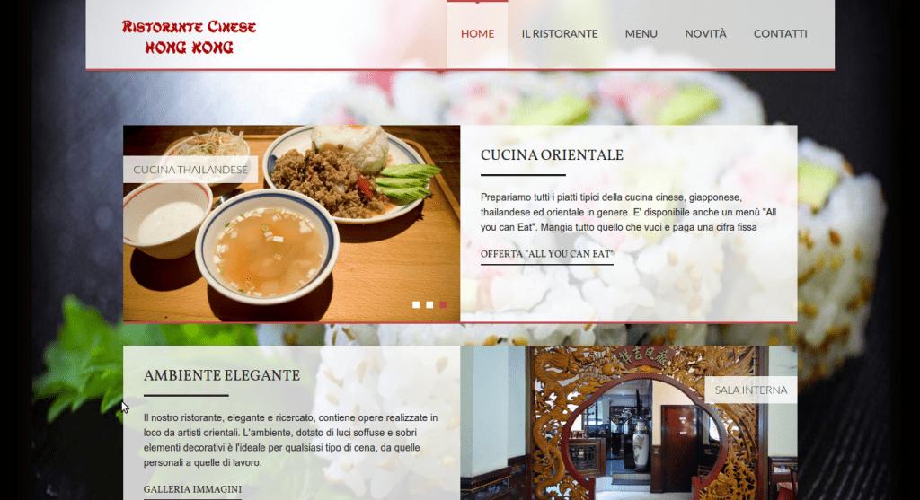 sito internet ristorante cinese