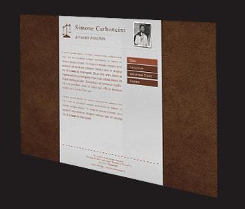 sito internet statico avvocato