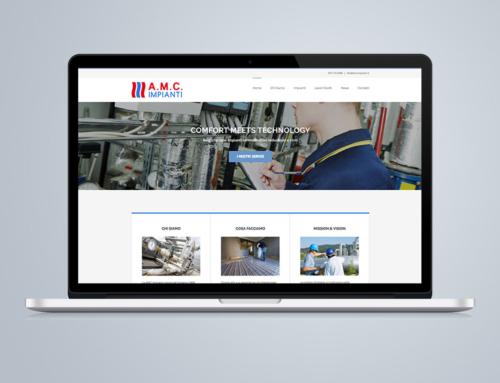 Restyling sito e logo azienda impianti termoidraulici