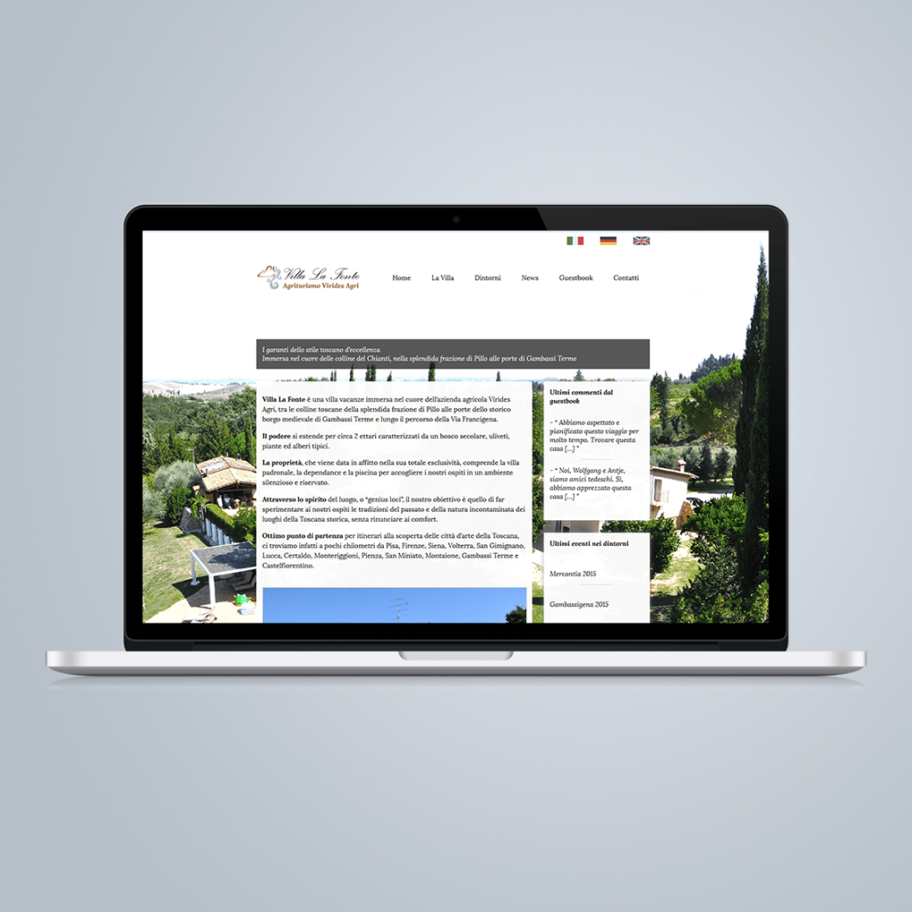 sito internet villa vacanze