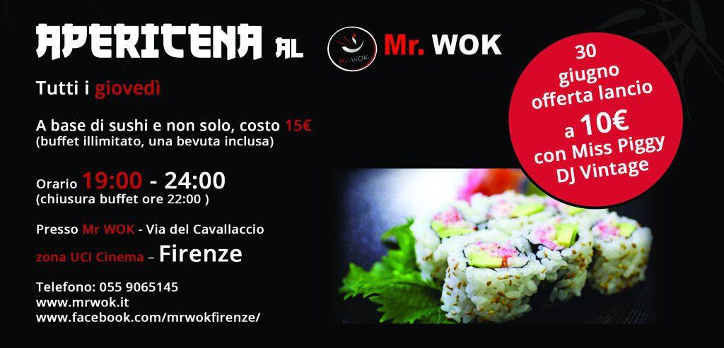 flyer evento ristorante orientale