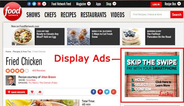campagna pubblicitaria display google