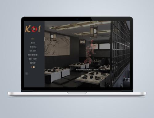 Sito Web Ristorante Giapponese e Sushi