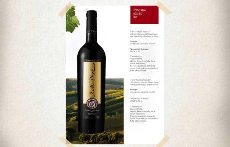 creazione brochure vino