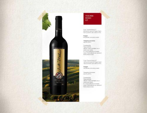 Brochure vino