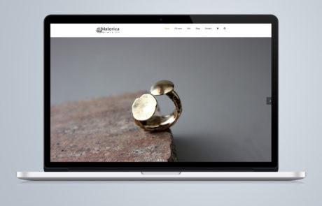 realizzazione sito web orafo