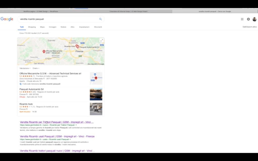 siti internet indicizzati sui motori di ricerca