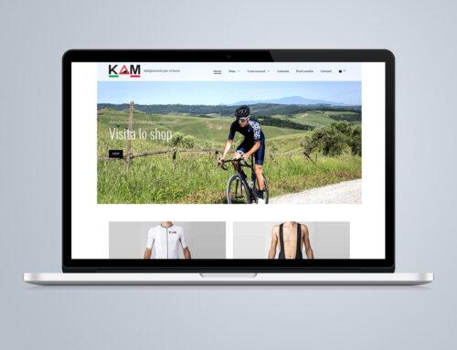 Sito internet azienda abbigliamento per ciclismo